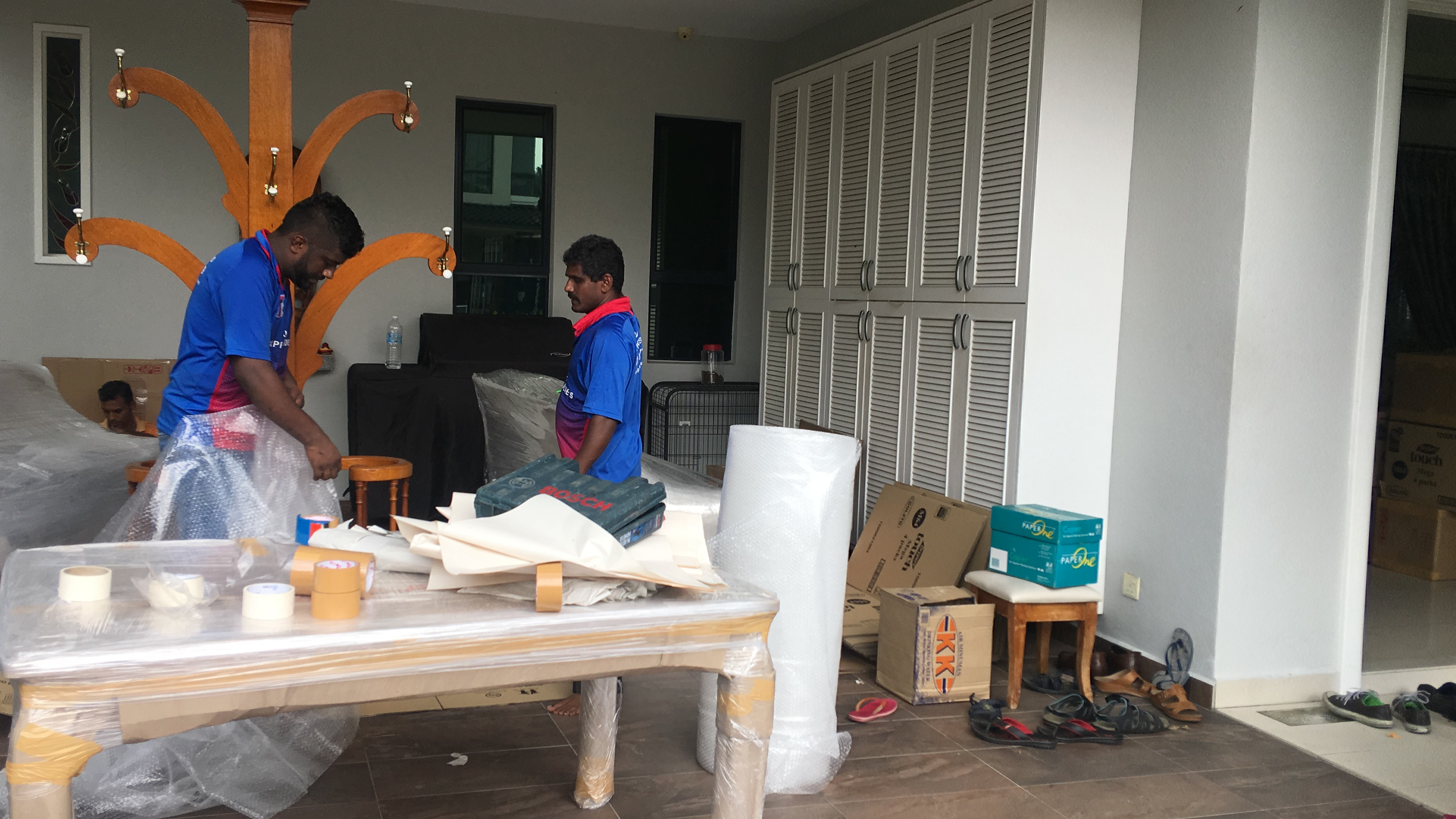 HOME MOVING- BKT RIMAU PUVANES